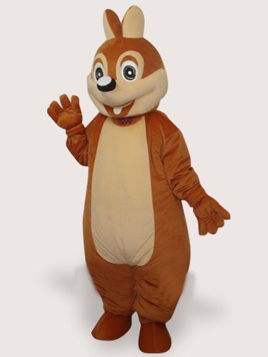 Mouse Short Plush Adult Mascot Costume