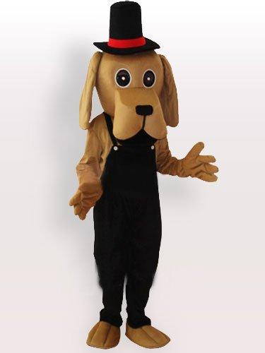 Shar Pei Adult Mascot Costume