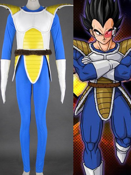 Dragon Ball Vegeta Halloween Cosplay Costume