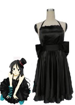 K-On! Mio Akiyama Black Halloween Cosplay Costume