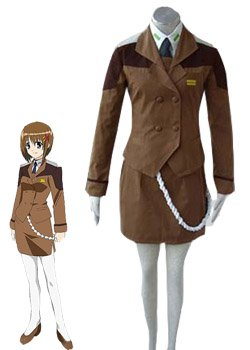 Magical Girl Lyrical Nanoha Strikers Lost Property Riot Force 6 Uniform Halloween Cosplay Costume
