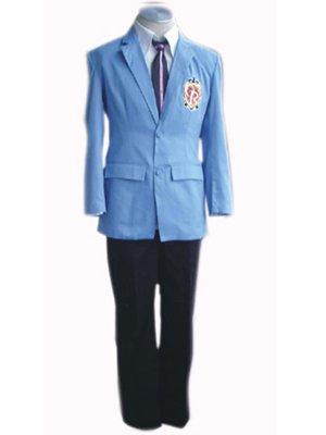 Ouran High School Host Club Men\'s School Uniform of High Grade Halloween Cosplay Costume