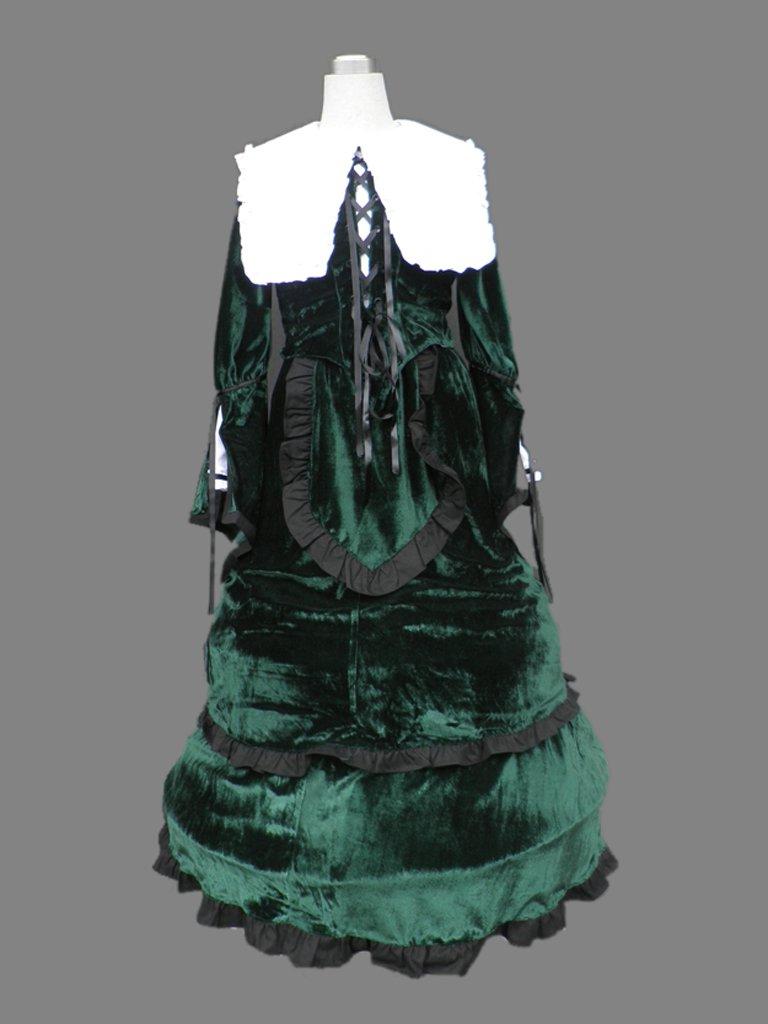 Rozen Maiden Jade Stern Halloween Cosplay Costume