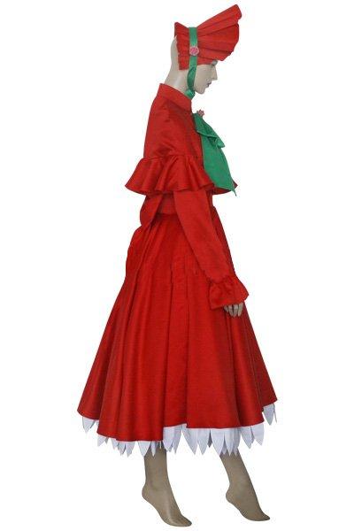 Rozen Maiden Shinku Halloween Cosplay Costume
