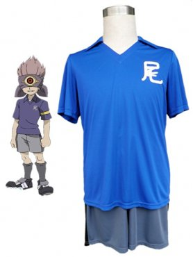 Cool Inazuma Eleven Middle School Football Boys Trikot Halloween Cosplay Costume