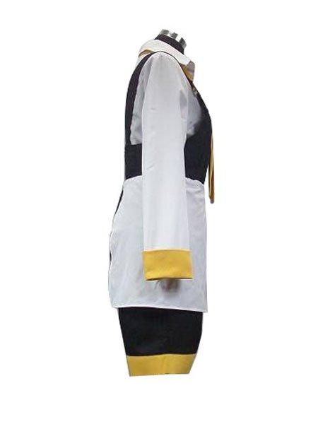 Da Capo Yellow And White Halloween Cosplay Costume