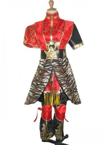 Dynasty Warriors 4 Sun Ce Halloween Cosplay Costume