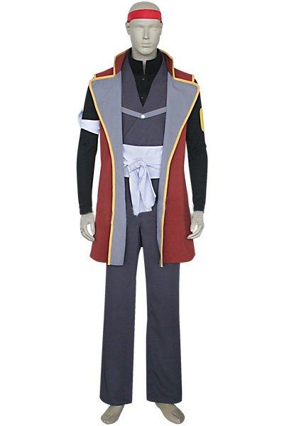 Rurouni Kenshin Classic Captain Sagara Halloween Cosplay Costume