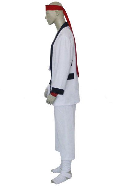 Rurouni Kenshin Sanosuke Sagara Halloween Cosplay Costume