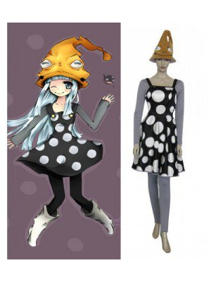 Soul Eater Eruka Frog Dress Halloween Cosplay Costume