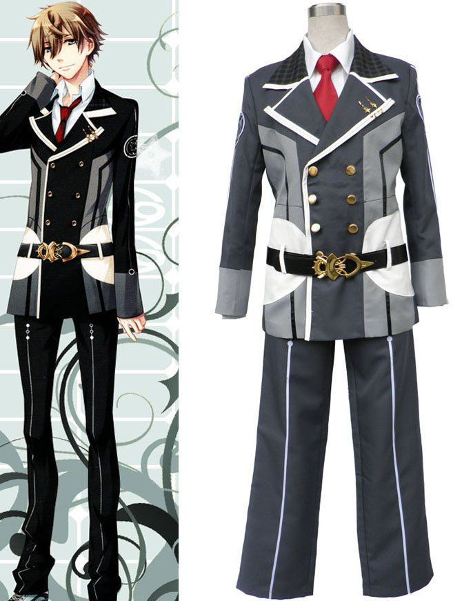Starry Sky Seigatsu Academy Male Winter Uniform Version 1 Halloween Cosplay Costume