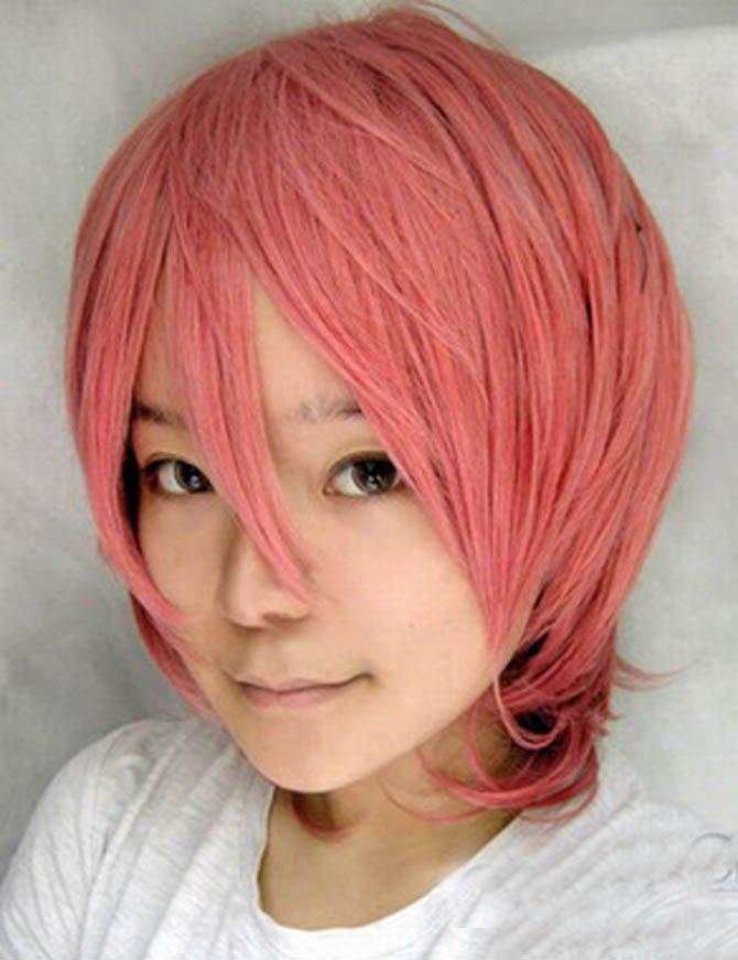 StarrySky Shinig Pink Short Wig