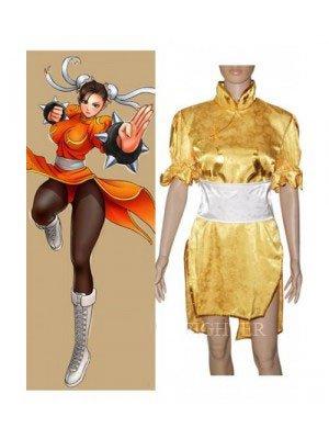 Street Fighter Chun Li Fighting Game Halloween Cosplay Costume