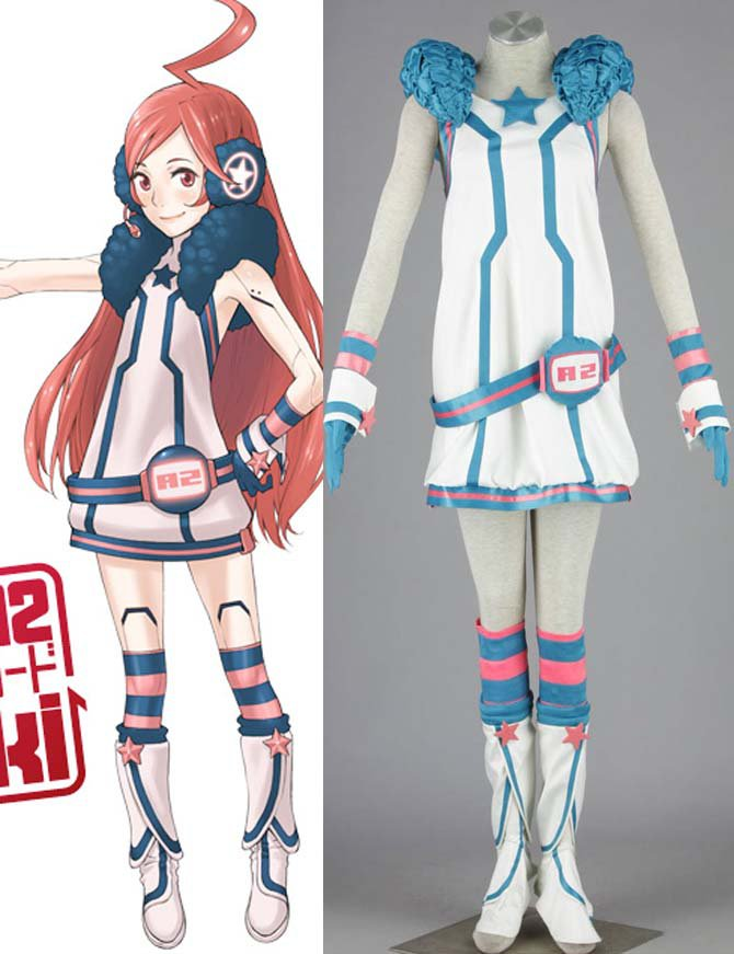 VOCALOID Miki Seven-piece Manga Anime Halloween Cosplay Costumes