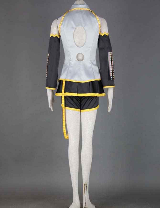Vocaloid Akita Neru Eight-piece Anime Halloween Cosplay Costumes