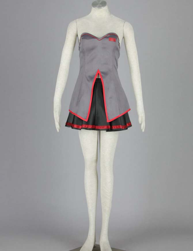 Vocaloid  Zatsune Miku Six-piece Manga Anime Halloween Cosplay Costumes