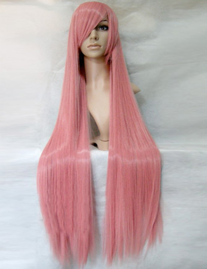 Vocaloid-LUKA Pink Over Long Straight Hair