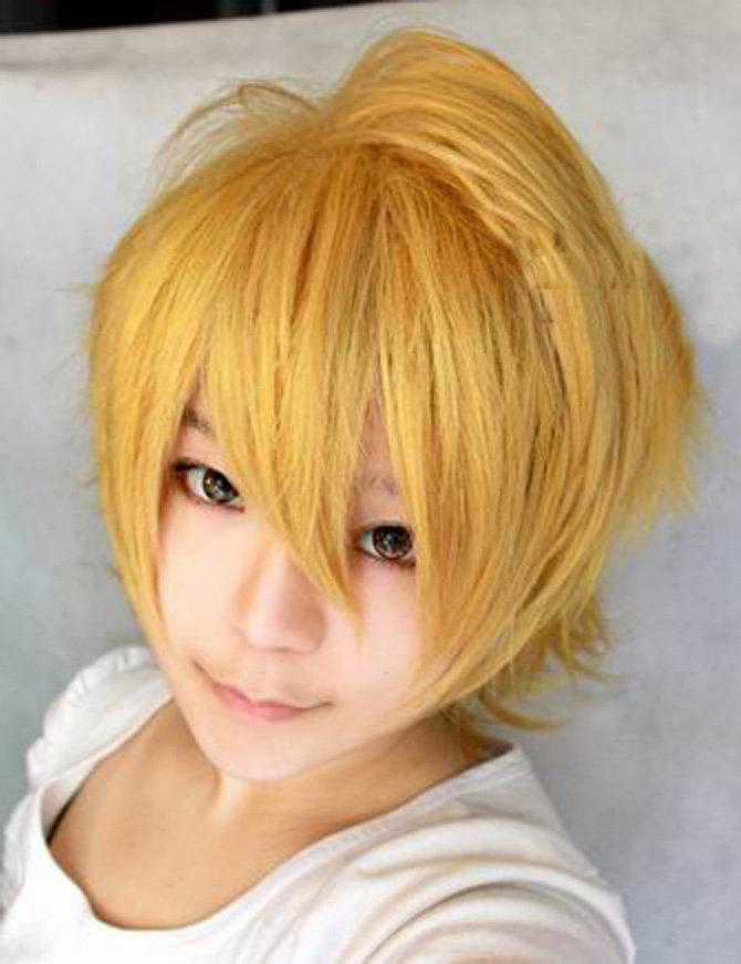 Vocaloid Len Golden Wig