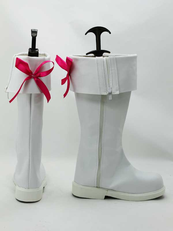 AKB0048 Cosplay Chieri Sono White Cosplay Boots