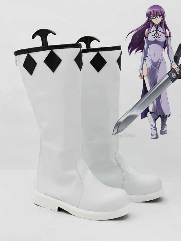 Akame Ga Kill! Sheele Cosplay Combat Boots