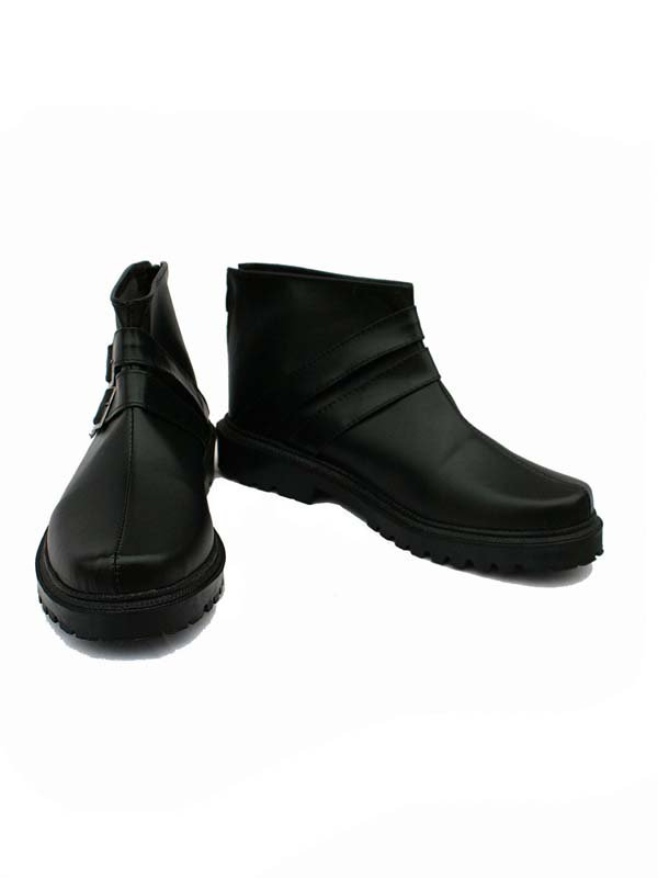 Amnesia Cosplay TOMA Artificial Leather Short Boots