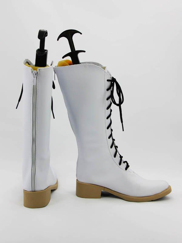 New Amnesia Cosplay Heroine White Cosplay Boots