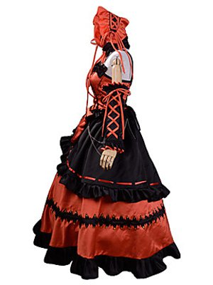 Date A Live Cosplay Kurumi Tokisaki Cosplay Costume/Dress
