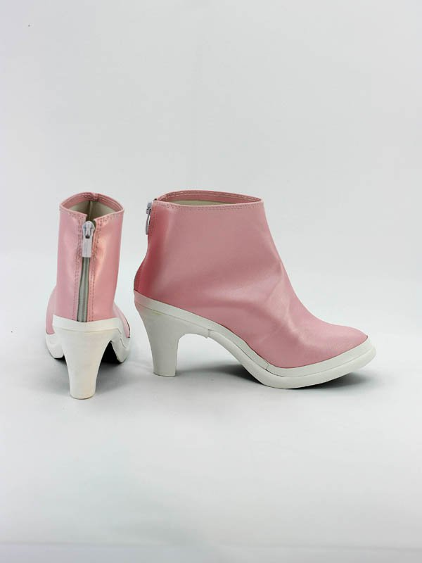Idolm@ster Iori Minase Pink Female Hight Heel Cosplay Boots