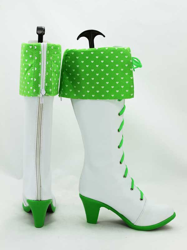 Idolm@ster Miki Hoshii Female Hight Heel Cosplay Boots
