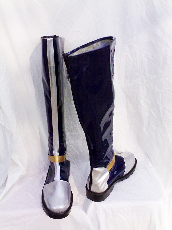 Dynasty Warriors Cosplay Cao Pi Cosplay Artificial Leather Boots