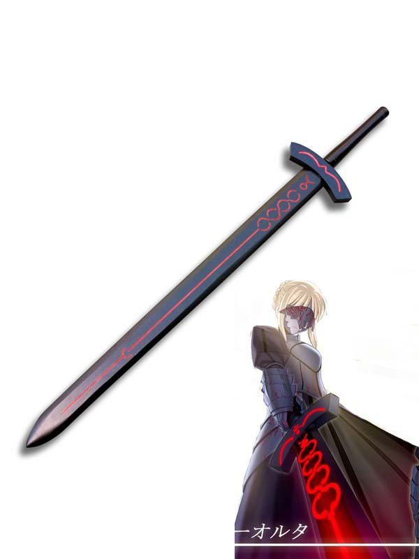Fate Stay Night Cosplay Saber Red Cosplay Sword Excalibur