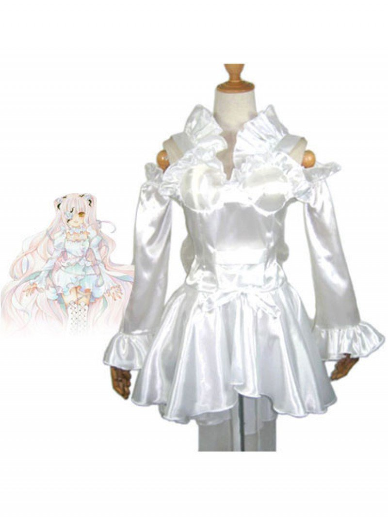 Rozen Maiden Cosplay  Kirakishou White Cosplay Costume