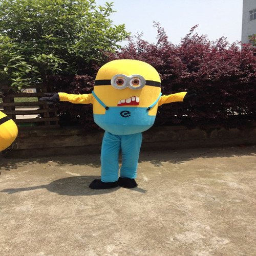 Despicable Me 2 Despicable Me Little Yellow Peas Clothing Walking Cartoon Cartoon Doll Clothing Doll Clothing Mascot Costume