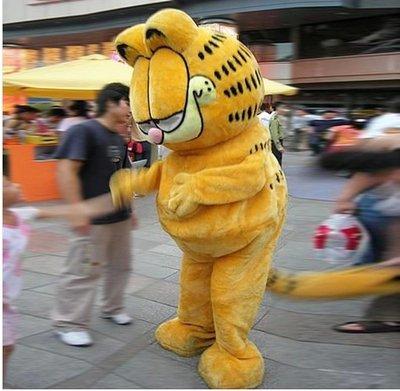 Garfield Cartoon Doll Clothing Doll Clothing Cartoon Costumes Walking Cartoon Dolls Doll Costumes Mascot Costume