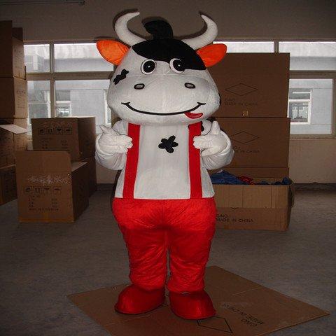 Mengniu Dairy Cattle Cartoon Costumes Walking Cartoon Doll Clothing Doll Clothing Mengniu Doll Costumes Mascot Costume