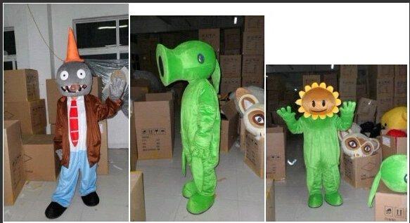 Zombies Walking Cartoon Doll Clothing Doll Clothing Cartoon Dolls Costumes Mascot Costume