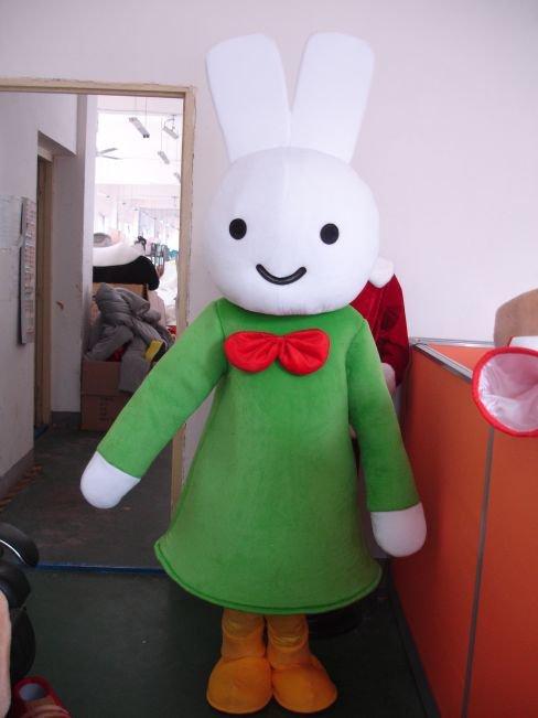 Miffy Cartoon Clever Rabbit Costume Dress Animation Clothing Mascot Costume