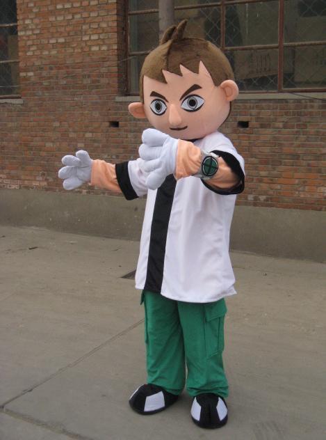 Boy Cartoon Costume Cartoon Character Costumes Model Doll Clothing Cartoon Clothing Boy Mascot Costume