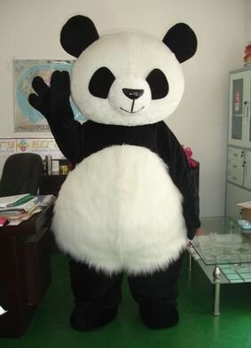 Walking Cartoon Doll Doll Cartoon Costumes Cartoon Animal Costumes Performance Clothing Giant Panda Mascot Costume