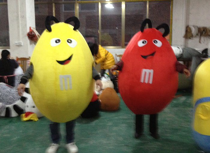 Cartoon Costumes Cartoon Mascot Plush Doll Mascot Costume Show Promotion