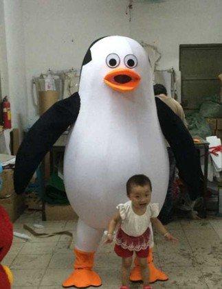 Penguins Walking Doll Clothing Lovely People Walkpenguin Cartoon Dolls Clothing Mascot Costume