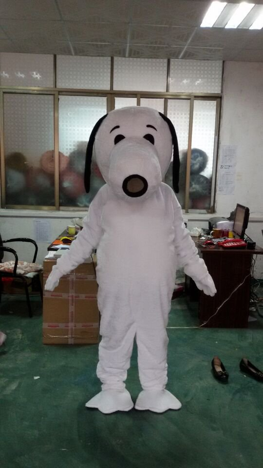 Cartoon Doll Doll Clothing Performance Props Apparel Clothing Walking Cartoon Dog Snoopy Costume Mascot Costume