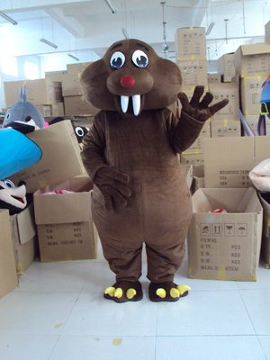 Groundhog Mouse Cartoon Dolls Cartoon Clothing Baoya Little Mouse Costume Mascot Costume