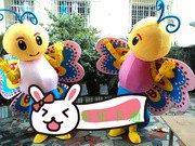 Adult Animal Cartoon Cartoons Clothing Walking Cartoon Clothing Children Dance Performance Clothing Butterfly Mascot Costume