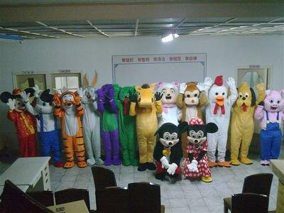 Advertising Mascot Costumes Cartoon Doll Clothing Stage Clothing 12 Zodiac Cartoon Costumes