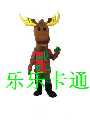 Cartoon Costumes Cartoon Deer Costume Dance Performance Stage Props Cartoon Dolls Clothing Mascot Costume