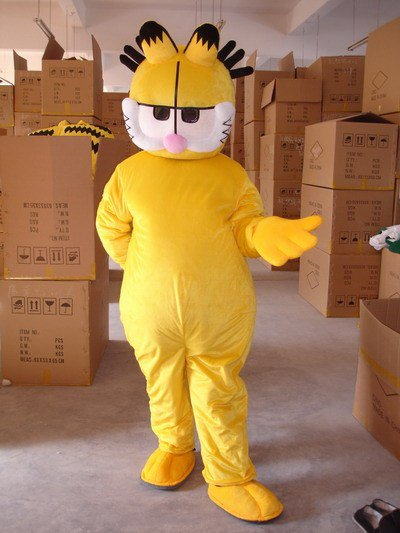 Cartoon Costumes Cartoon Doll Clothing Cartoon Walking Doll Clothing Cartoon Garfield Cartoon Costumes Mascot Costume