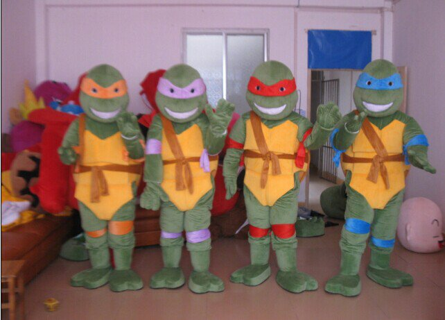 Turtles Cartoon Clothing Manufacturers Walking Cartoon Doll Clothing Props Costumes Props Turtles Mascot Costume