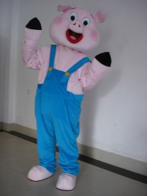 Zodiac Pig Cartoon Pig Cartoon Dolls Clothing Clothing Bib Cartoon Pig Performance Props Apparel Mascot Costume
