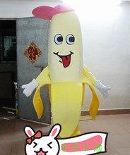 Banana Cartoon Clothing Cartoon Dolls Walking Cartoon Doll Dress Performance Props Bananas Mascot Costume